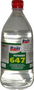 """Купить Растворитель 647 """"Вайт"""", 1л - Vait.ua"""