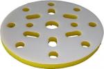 """Мягкая подложка """"Вайт"""", d150мм, 10мм (16+1 отверстий), желтая"""