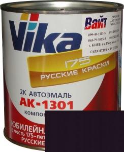 """Купить 107 Акриловая автоэмаль Vika АК-1301 """"Баклажан"""" (0,85кг) в комплекте со стандартным отвердителем 1301 (0,21кг) - Vait.ua"""