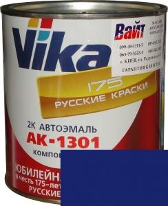 """Купить 1115 Акриловая автоэмаль Vika АК-1301 """"Синяя"""" (0,85кг) в комплекте со стандартным отвердителем 1301 (0,21кг) - Vait.ua"""