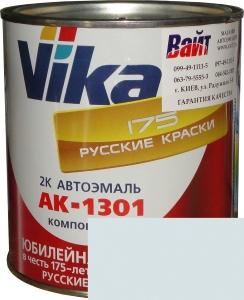 """Купить 202 Акриловая автоэмаль Vika АК-1301 """"Снежно-белая"""" (0,85кг) в комплекте со стандартным отвердителем 1301 (0,21кг) - Vait.ua"""