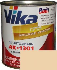"""Купить 215 Акриловая автоэмаль Vika АК-1301 """"Желтовато-белая"""" (0,85кг) в комплекте со стандартным отвердителем 1301 (0,21кг) - Vait.ua"""