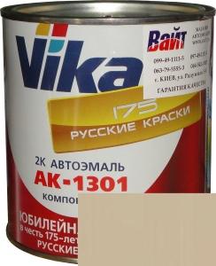 """Купить 235 Акриловая автоэмаль Vika АК-1301 """"Бежевая"""" (0,85кг) в комплекте со стандартным отвердителем 1301 (0,21кг) - Vait.ua"""