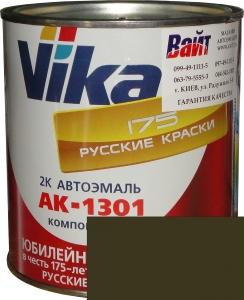 """Купить 303М Акриловая автоэмаль Vika АК-1301 """"Защитная матовая"""" (0,85кг) в комплекте со стандартным отвердителем 1301 (0,21кг) - Vait.ua"""