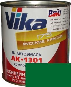 """Купить 564 Акриловая автоэмаль Vika АК-1301 """"Кипарис"""" (0,85кг) в комплекте со стандартным отвердителем 1301 (0,21кг) - Vait.ua"""