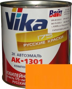 """Купить Апельсин ИЖ Акриловая автоэмаль Vika АК-1301 """"Апельсин ИЖ"""" (0,85кг) в комплекте со стандартным отвердителем 1301 (0,21кг) - Vait.ua"""