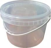 Тара пластиковая с крышкой, 2,3 л