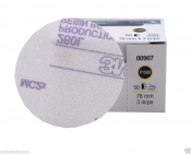 00911 Супертонкий абразивный полировальный диск 3M™ Hoоkit серия Purple 260L, без отверстий, диам. 75 мм, Р600