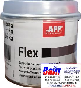 Купить Шпатлевка для пластмассы APP FLEX POLY-PLAST, 0,6 кг - Vait.ua