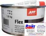 Шпатлевка для пластмассы APP FLEX POLY-PLAST, 1,8кг