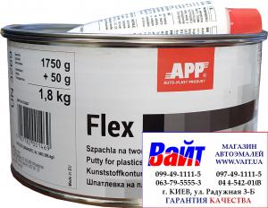 Купить Шпатлевка для пластмассы APP FLEX POLY-PLAST, 1,8кг - Vait.ua