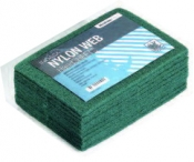 Скотч-брайт Nylon Web Indasa (зеленый), 230мм х 155мм х 6мм