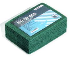 Купить Скотч-брайт Nylon Web Indasa (зеленый), 230мм х 155мм х 6мм - Vait.ua