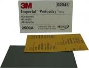 02045 Наждачная водостойкая бумага 3M P2500 (шлифовка с водой)