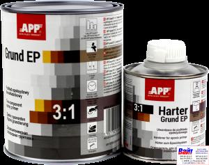 Купить 021201 Эпоксидный двухкомпонентный грунт APP <2K-Grund EP> с отвердителем, 1л + 0,2л - Vait.ua