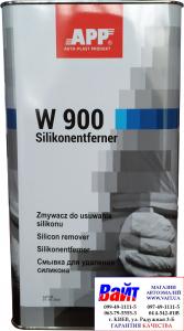Купить 030160 Смывка для удаления силикона (обезжириватель) APP W900 Silikonentferner 5л - Vait.ua