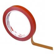 040904 Двухсторонняя прозрачная монтажная лента APP, 12мм х 10м