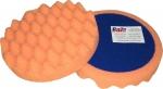 """04502 Круг полировальный PYRAMID крепление """"липучка"""", высота 25мм, d150мм, рельефный, оранжевый"""