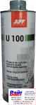 050100 Средство для защиты кузова от ударов камнями APP-U100 Baranek серое, 1л
