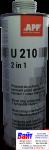 """050112 Средство для защиты кузова и жидкая уплотнительная масса (герметик)  APP-U210 """"2 в 1"""" 1л, белое"""