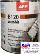 Масса для защиты и консервации кузова автомобиля <APP-Autobit P>, чёрная, 2,5кг