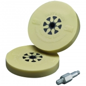 07498 Пресованный диск 3M для снятия двусторонних клейких лент 100мм х 16мм  + шпиндель