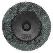 Диск Scotch-Brite (скотч-брайт) с креплением Roloc SC-DR, d50мм,  A VFN (зеленый)