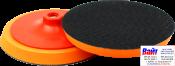 09402 Жесткая базовая платформа PYRAMID с резьбой М14 для полировальных кругов, оранжевая, d150мм