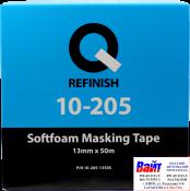 10-205-1350S, Q-Refinish, Валик самоклеящийся для маскировки проемов, 13мм х 50м