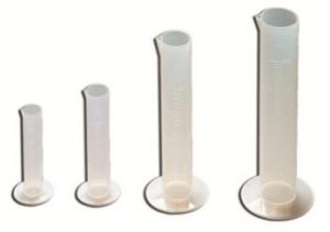 Купить Пластиковый цилиндр Corcos для смешивания жидкостей 500мл - Vait.ua