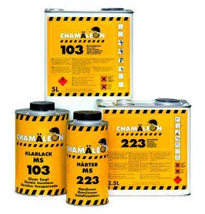 Купить Бесцветный лак МS Clarlack Chamaleon 103 (1л) с отвердителем 223 (0,5л) - Vait.ua