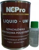 Шпатлёвка жидкая распыляемая NCPro, 1,2 кг