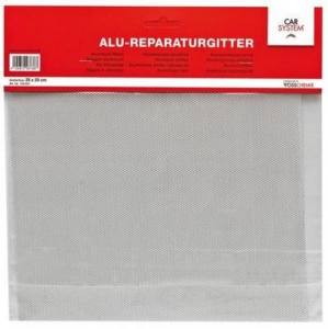Купить Алюминиевая ремонтная сетка Alu-Reparaturgitte CarSystem, 25см х 20см - Vait.ua