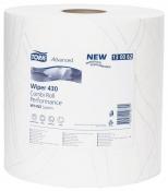 130062 Двухслойная протирочная бумага Tork Advanced, 170м, 500 листов, супер мягкая, белая