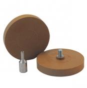 150407 Круг для удаления наклеек и двусторонних скотчей с адаптером