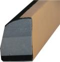 "Оправка под абразивную бумагу вид S профи (серия ""VTP""), крепление Velcro, 195х38х45"