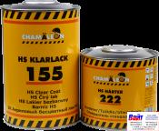 11555, Chamaleon, HS Clarlack 155, Бесцветный акриловый HS лак (1л) с отвердителем 222 (0,5л)