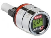 SATA ADAM 2 электронный манометр с регулировкой входного давления для SATA jet 4000 B, 3000 B, 100 B, 1000 B