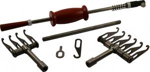 Купить Комплект: Рихтовочный обратный молоток в комплекте с крючком,шайбой и ручкой, зацеп на 4 и зацеп на 6 крючков - Vait.ua