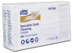 Купить 197168 Салфетки из нетканного материала Tork Premium для очистки поверхностей, 38 х 42,8 см - Vait.ua