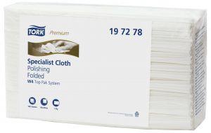 Купить 197278 Полировальные салфетки из нетканного материала Tork Premium Specialist, 1 слой, 42,8 x 38,5 см - Vait.ua