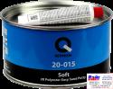 20-015-1700, Q-Refinish, Полиэфирная шпатлевка SOFT легкошлифуемая 1,7кг