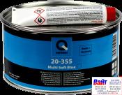 20-355-1600, Q-Refinish, Полиэфирная шпатлевка MULTI SOFT голубая, 1,6кг