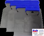 20-963-0004, Q-Refinish, Набор из 4 закаленных стальных шпателей (5, 8, 10 и 12 см)