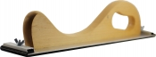 """Рубанок деревянный """"Вайт"""" (серия """"VTP""""), универсальный, крепление Velcro (""""липучка"""") + винтовой зажим,  400мм x 70мм"""