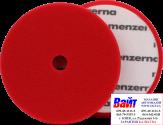 26901.099.001 Круг полировальный Heavy Cut на липучке MENZERNA 180мм, PREMIUM, жесткий, красный с отверстием