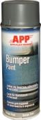 210406 Бамперная структурная краска аэрозольная APP Bumper Paint - New Line, 400мл, темно-серая