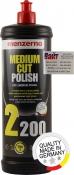 Cреднезернистая полировальная паста 2-го шага полировки «MENZERNA» Heavy Cut Polish 2200, 1л
