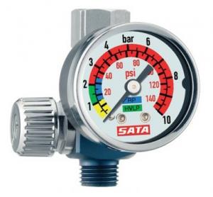 Купить Манометр SATA с регулятором давления и резьбовым соединением - Vait.ua