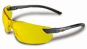 """2822 Очки улучшенные защитные 3M """"Классик Модерн"""", классические, желтые"""